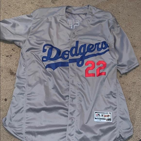reputable site cbd78 b155d La Dodgers 'Klayton Kershaw' Majestic Jersey NWT